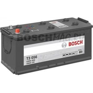 Автомобильный аккумулятор BOSCH Т3 056   0092Т30560  190 Ач (A/h)  прямая полярность Специально для КАМАЗ