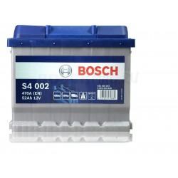 Автомобильный аккумулятор BOSCH S4 002   0092S40020  52 Ач (A/h)  обратная полярность  -  552400047
