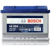 Аккумулятор BOSCH S4 004 0092S40040 60 Ач (A/h) обратная полярность - 560409054