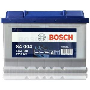 Автомобильный аккумулятор BOSCH S4 004   0092S40040  60 Ач (A/h)  обратная полярность  -  560409054
