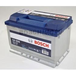 Автомобильный аккумулятор BOSCH S4 009   0092S40090  74 Ач (A/h)  прямая полярность  -  574013068