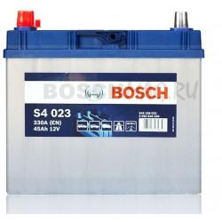 Автомобильный аккумулятор BOSCH S4 023   0092S40230  45 Ач (A/h)  прямая полярность  -  545158033
