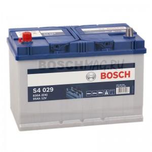 Автомобильный аккумулятор BOSCH S4 029   0092S40290  95 Ач (A/h)  прямая полярность  -  595405083