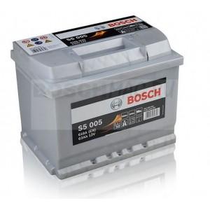 Автомобильный аккумулятор BOSCH S5 005   0092S50050  63 Ач (A/h)  обратная полярность  -  563400061