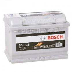 Автомобильный аккумулятор BOSCH S5 008   0092S50080  77 Ач (A/h)  обратная полярность  -  577400078