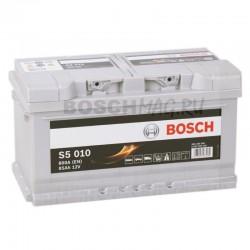 Автомобильный аккумулятор BOSCH S5 010   0092S50100  85 Ач (A/h)  обратная полярность  -  585200080