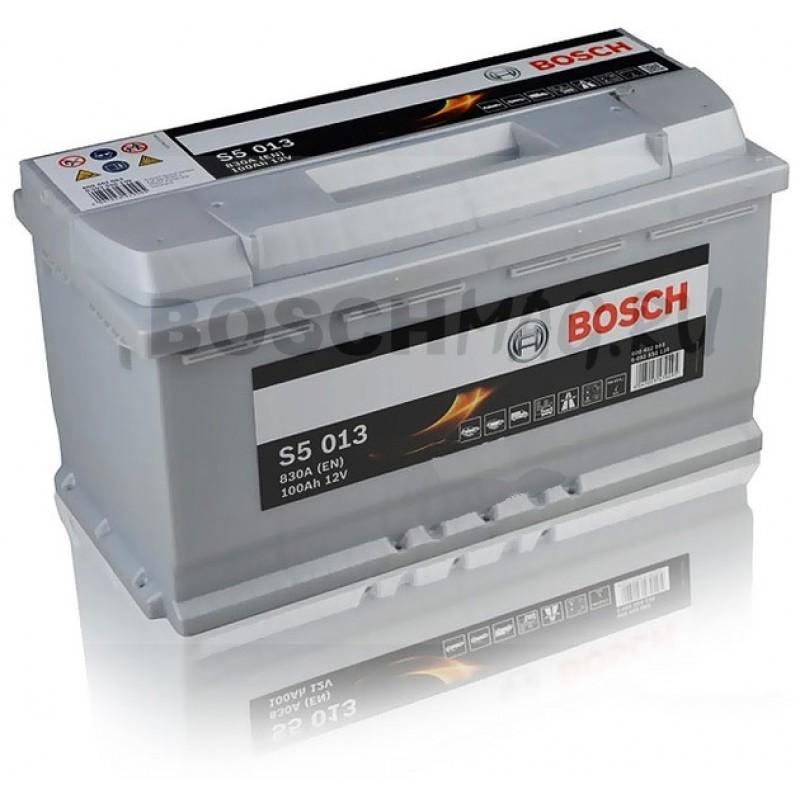 Аккумулятор BOSCH S5 013 0092S50130 100 Ач (A/h) обратная полярность - 600402083