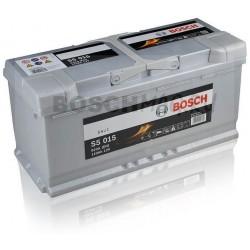 Автомобильный аккумулятор BOSCH S5 015   0092S50150  110 Ач (A/h)  обратная полярность  -  610402092