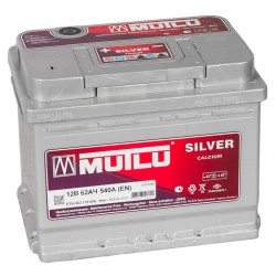 Автомобильный аккумулятор MUTLU CALCIUM SILVER 60Ач (A/h)  прямая полярность-560 138 052