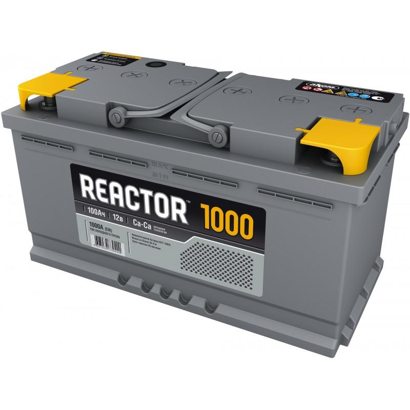 Аккумулятор REACTOR 6CT-100.1 прямая полярность