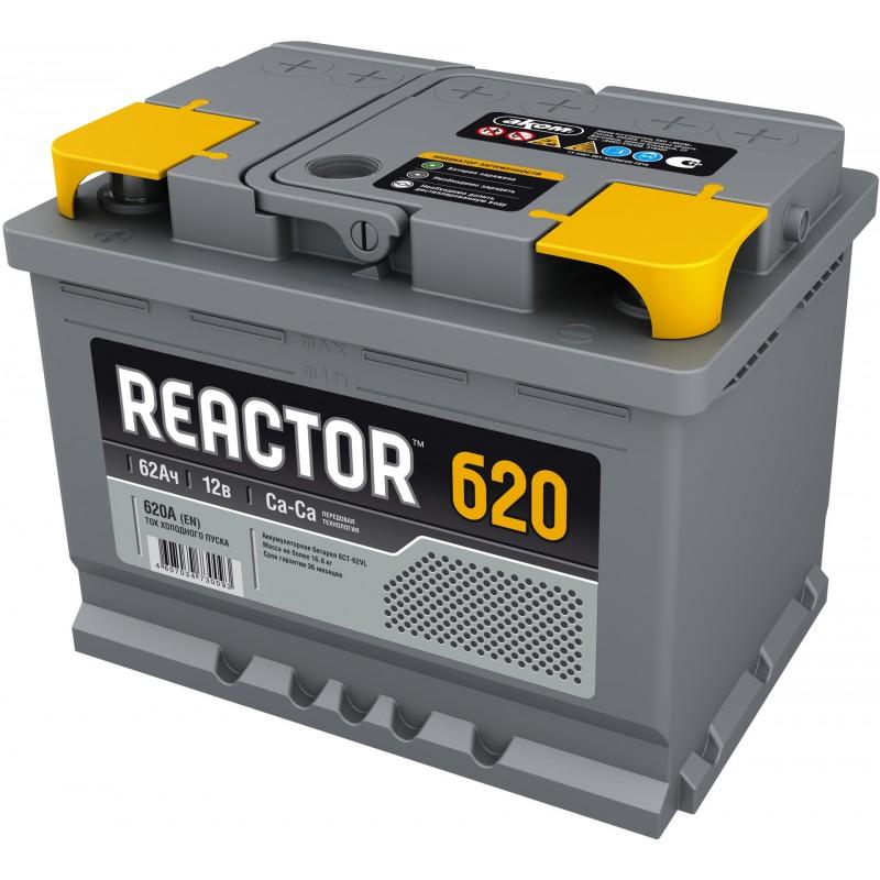 Аккумулятор REACTOR 6CT-62.1 прямая полярность