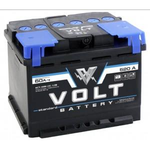 Купить автомобильные аккумуляторы VOLT STANDARD в Москве